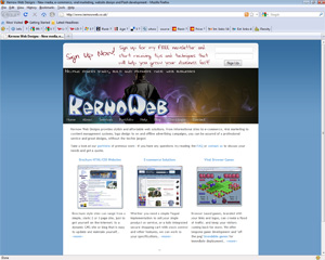 The old KernowWeb site