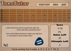 Flash guitar software development